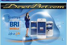 Bank BRI / Dewibet.com | Available Support BRI