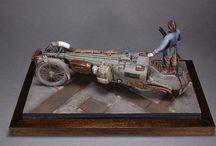 Machine Krieger modelling