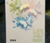 Gorgeous Grunge Stampin' Up! Stamp Set Greeting Cards