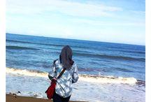 Pantai Purus, Padang / Ini waktu tes odp bank mandiri, sempet-sempetin cuci mata di sini