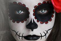 Maquiagens de hallowen