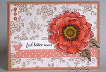 Stampin' Up! - Blended Bloom / Projects using the 'Blended Bloom' stamp set.