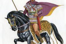 Megas Alexandros and Macedonians
