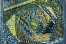 Crazy Quilting / designs, tutorials, stitches and finished pieces