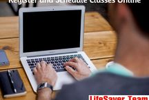 Schedule Classes Online / Register Online classes at Lifesaverteamcpr.com or Please call us if you have any questions 818.687.7283 .