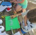Spijkerschilderijtjes voor vadewrdag