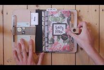 Filofax & Bullet journal & Planner / Tervezés & naplózás