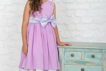 Bespoke Flower girl dresses / All dresses are unique and designed exclusively for Queenly Stitch. These lovely dresses are sewn from high quality fabrics, that are supplied from Italy, Prato.
