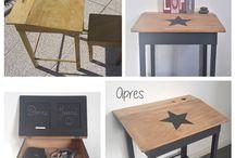 meubles relookés