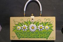 This bags a bunch! / Handbags with Flower Power.
