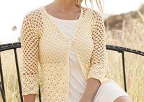 crochet tops/shrugs/vests/jackets