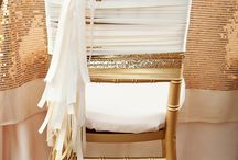 Wedding Details | Chairs / Gorgeous inspiration for how to adorn your seating and tie in with the theme
