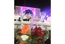 Wedding / Décoration de table à un mariage oriental