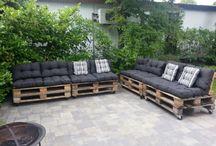 buitenplein / het grauwe grijze terras tot buitenkamer transformeren