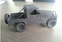 3D printed car collection