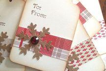 Karácsonyi ajándékkísérők