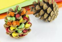 Fall Crafts for Toddlers / halloween crafts for toddlers, halloween preschool crafts, thanksgiving crafts for toddlers, fall crafts for toddlers, preschool halloween crafts, halloween crafts for preschoolers, preschool thanksgiving crafts