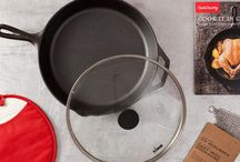 Cook It In Cast Iron / Cooking in cast iron is an incredibly versatile, durable, and completely chemical-free way to cook. And the more you know about it—how to choose the best one, how to clean and season it, and the surprising number of recipes that lend themselves to being cooked in it—the more you'll appreciate this multitasking powerhouse.