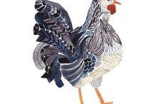 Rooster ,hen Stuff  :O) / by Brenda Brown Kuttler