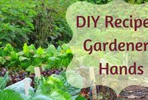 Hand Soaps and Hand Salves / While gardening is fun, it has its own set of issues… like destroying my manicure and leaving me with dirty, stained, and dry hands. To keep my hands shiny clean, soft and get rid of all that dirt I have my favorite soap recipes.