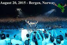 Metallica  20, August  Bergen, Norway  2015