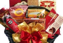 Gift Baskets: Gourmet Food / From sweet to savory to spicy... from fun to fancy to fabulous, our collection of beautiful gourmet gift baskets and towers will WOW your friends, family, and colleagues on any occasion. Visit www.artofappreciation.com to see even more!