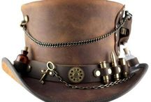 Men's Steampunk Accessories / No greater selection of steampunk accessories has ever been assembled. Look through our many options from steampunk wallets to Neo-Victorian bags. We also carry a assortment of period sleeve garters, aviator caps, top hats, steampunk belts, steampunk arm bands, and steampunk masks. You will find the Neo-Victorian mens fashion accessories that will compliment your steampunk cosplay ensemble as well as pieces great for post-apocalyptic apparel or period Victorian attire.