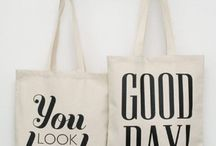 Tote Bag / sacs en toile...