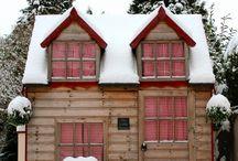Homes - Cabins / by Cynthia Christensen