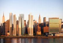 RM 2005 East River Master Plan New York, New York 2005 - / RICHARD MEIER