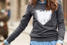 Sweatshirt chic / by Valerie Langlois