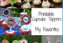 printables and cupcake toppers