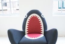 Fun chairs we <3 / Fun seating that inspires us and brings out our playful side- a mix of products from Sandler and beyond.