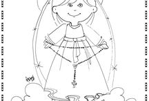 Catholic Coloring Pages / by Sonja Campbell