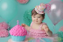Pink & Mint cake smash theme inspiration