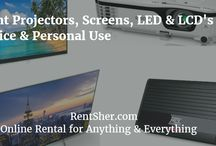 Electronics and Equipment / India's number one Online Electronics and Equipment Rental store - RentSher.