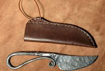 knife leather sheath