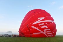 Norfolk Ballooning / Floating over the incredible Norfolk landscapes in a beautiful big red balloon - what could be better?!