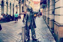 Bratislava's Quirky Statues