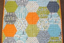 Quilting - Hexies / by Kathy Parks