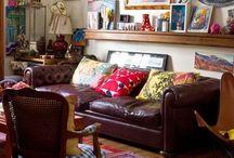 Bohemian interiors: Living room inspiration