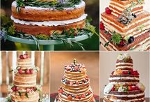 Wedding cakes etc