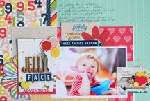 Shimelle Lane Scrapbook paper pages