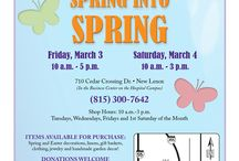 SPRING Is Here at the Encore Shop / Join Us March 3 and March 4!