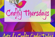 """Crafty Thursdays / Join us for """"CRAFTY THURSDAYS"""" in Grow With Nancy! This is our FREE Facebook group for artisans and crafters. Each Thursday you can post photos of your arts & crafts designs you sell online. Each week, 5 of the top posts will be featured in this Pinterest board! https://www.facebook.com/groups/GrowWithNancy / by Ladybug Wreaths"""