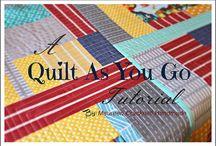 Quilt Tutorial / by Barbara Sherrill