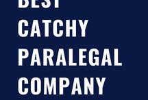 Paralegal Company Slogans