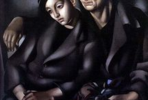Tamara de Lempicka / Artworks from Art Deco Artist/Woman - Tamara de Lempicka