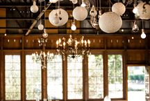 Events - Centre pieces and chandeliers