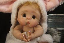 Mini doll polymerclay
